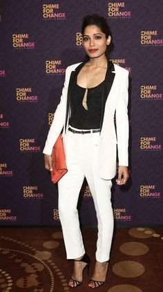 Freida Pinto Gucci Chime For Change Concert