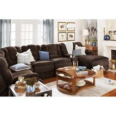 Living Room Furniture - Big Softie 6 Pc. Power Reclining Sectional