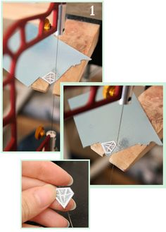 Piercing design out of silver sheet tutorial