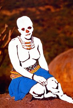 """""""Ghost series"""", Candice Breitz, 1994-6."""