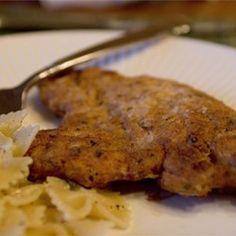 Garlic Chicken Fried Chicken - Allrecipes.com.  Should say Tblspns vs teaspns of Garlic.