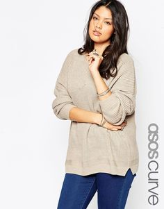 ASOS CURVE Ultimate Chunky Jumper