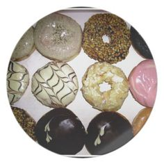 DELICIOUS SWEET DONUTS DINNER PLATE