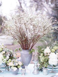 Dreamy Blue and Green Spring Wedding Inspiration Shoot / Brian LaBrada Photography