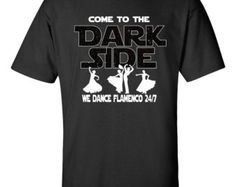 Flamenco Shirt Flamenco Dancer Art Birthday Gift Friend Gift Holiday Gift Starwars Shirts Nerdy T Shirt Star Wars Shirt