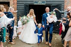 Worth the wait: Charlotte and Ollie's whimsical garden wedding - Real Weddings   Easy Weddings UK Wedding Bride, Floral Wedding, Our Wedding, Easy Weddings, English Country Weddings, Liberty Of London Fabric, Bride Accessories, Young Family, Bride Gowns