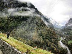 Atop the Castello di Mesocco ruins, Graubünden, Switzerland Beautiful Ruins, Mount Rainier, My World, Switzerland, Past, Places To Go, Bucket, Mountains, Travel