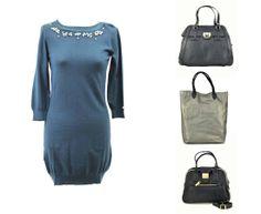¿Qué bolos elegirías para el vestido? www.clfashionable.com