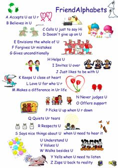 The ABC of Friendship