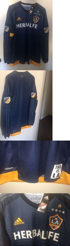 Soccer-MLS 2888: Los Angeles Galaxy Jersey Size Large -> BUY IT NOW ONLY: $60 on eBay!
