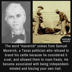 Samuel Maverick - 10 Unbelievable History Facts You Really Need to See From History Hustle