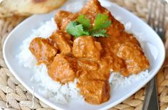 Butter Chicken--Who can resist this Indian meal of pure yum!