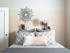 How to Paint an Ombre Wall >> http://www.hgtvremodels.com/interiors/paint-an-ombre-wall/index.html?soc=pinterest