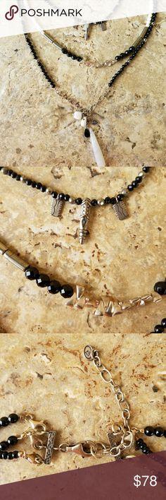 Silpada Black Adjustable Necklace Silpada Black Necklace Silpada Jewelry Necklaces