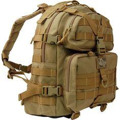 Maxpedition Khaki Condor-II Nylon Tactical Backpack