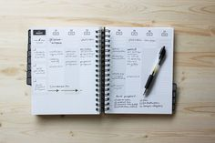 a daily planner + goal-setting workbook plus tools to help you do the work.