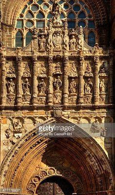 04-06 Portico of the Cathedral of Avila, Spain. #avila…... #avila: 04-06 Portico of the Cathedral of Avila, Spain. #avila…… #avila
