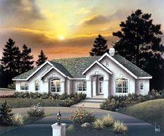 Ranch   House Plan 86961
