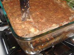 Paleo on Main: Apple-Rhubarb Cake