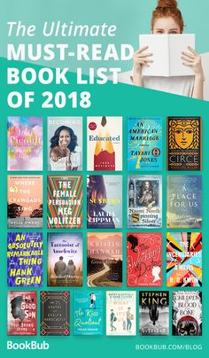 The Best Books of 2018 Did you miss any of these reads from this year? This list collects the highly rated, best books of 2018 — which make great book club books! Books To Read 2018, Top Books To Read, Books To Read For Women, Books For Teens, Great Books, My Books, Reading Books, Book Club List, Book Club Books