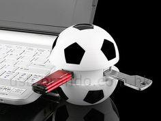 Balón de Fútbol Multipuertos USB