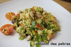 One-Pot Quinoa de frango e legumes | ratatui dos pobres