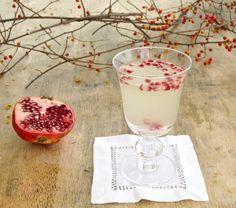 Jenny Steffens Hobick: Pineapple Vanilla Flirtini with Pomegranate Seeds | Cocktails