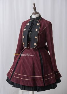Penny House -The Academy of Magical Arts- Lolita Jacket and Skirt Set