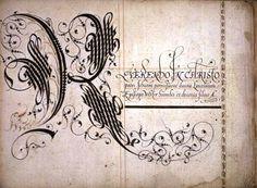 Initiale K 1592
