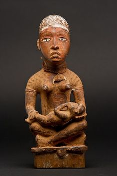 Figure: Seated Female with Child
