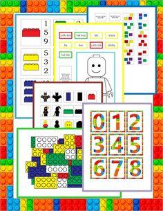 LEGO lapbook az 5-7 éves korosztály számára Gyereketető Lego, Travel With Kids, Legos