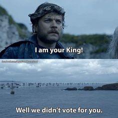 Game of Thrones/ Monty Python mashup