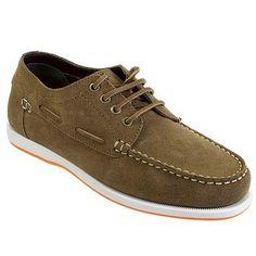 73806d6df8c235 Rugged Shark Men s Whaler Boat Shoes (Brown)