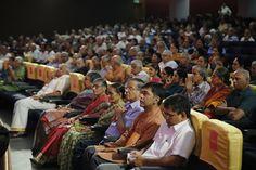 The Indira Sivasailam Endowment Concert 2016, held at The Music Academy, Madras honouring the RaGa sisters - Ranjani-Gayatri. isfoundation.in