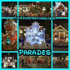 Wordless Wednesday – Disney Parades!