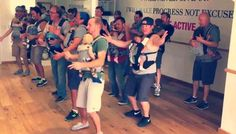 This dad-baby dance class video is going viral for good reason.