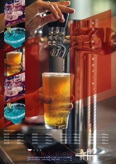 【BAR】beer おしゃれなバー 【無料で使えるデザインデータが10,000点以上】