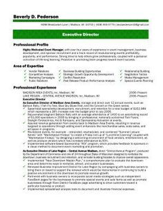 executive director resume template want it download it career