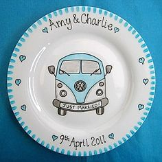 We love our new Camper Van plate!
