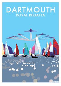 available at http://beckybettesworth.myshopify.com/products/dartmouth-royal-regatta-limited-edition