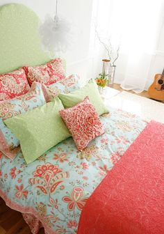More Amy Butler Loveliness: New Organic Bedding, Shower Curtains & Window Treatments