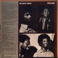Gil Scott-Heron - Free Will (Vinyl, LP, Album) at Discogs