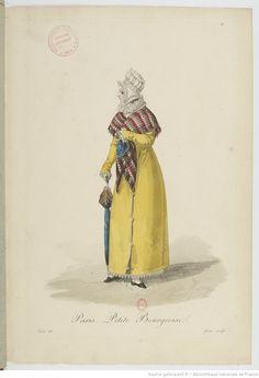 Costumes d'ouvrières parisiennes / par Gatine   Gallica