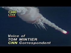 CNN: Challenger Disaster Live on CNN    Challenger explosion 1986 prompted similiar dark jokes from students and young children who watched the shuttle take off with excitement. Would've been the first civilian in space.