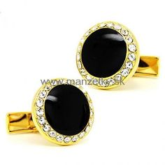 eye catching onyx in charming round fram cufflinks,Buy cufflinks for men mont blanc on sale Fashion Accessories, Fashion Jewelry, Round Frame, Black Crystals, Wedding Jewelry, How To Find Out, Cool Style, Gemstone Rings, Charmed