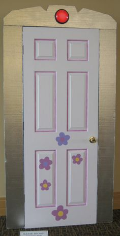 Monsters Inc - Boo's Door ~ I will have Boo's door on my craft room!