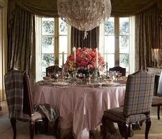 Ralph Lauren Home #The_Heiress Collection 7 - Dinning room