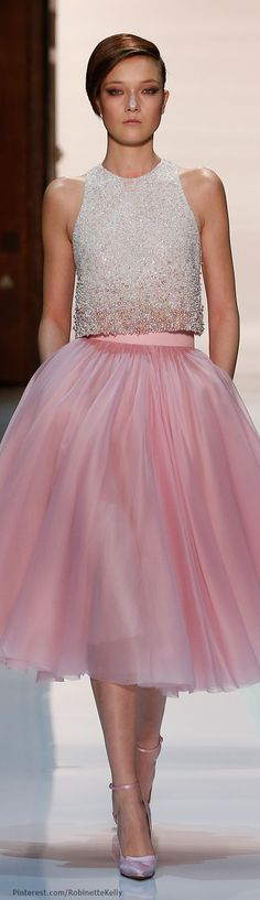 So pretty. Enchante! I am not familiar with this designer but I have a feeling he is worth a look. Georges Hobieka Haute Couture | S/S 2014