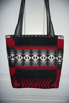 East Side Bags Wool Tote