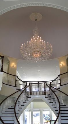 Classic Crystal Chandelier One day I will have something like this...